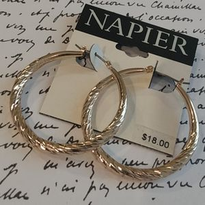 Napier Hoop Earrings